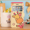 Cute Cartoon style leather case for iphone 5 with high quality