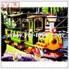 Guangzhou electric toy train sets electric mall kids electric train amusement electric train for sale