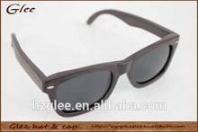 ebony Eco-friendly UV400 custom ebony sunglasses wooden temple