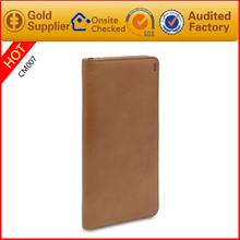 Passport travel ticket holder leather passport travel wallet passport card bag