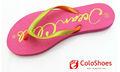 de goma damas sandalias de playa flip flops al por mayor