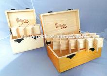 Good Quality Custom Logo Boxes Wholesale Wood Pine