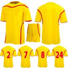 wholesale plain soccer jersey ,custom name set for soccer jerseys thai quality football shirt on hot sale