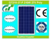 GT210-27-P 210W 27V solar photovoltaic module