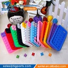 3D Building Blocks LEGO Soft Silicone Case Cover For Apple iPhone 5S