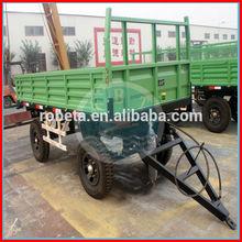 Hydraulic dumping farm trailer / Side Dumping farm Trailer
