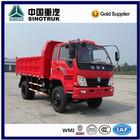 HOWO 4x2 8 ton light duty cargo trucks