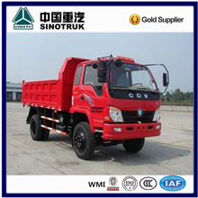 HOWO 4x2 8 ton light duty cargo trucks