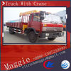 telescopic boom truck mounted crane, truck mounted mobile crane