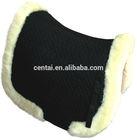 Sheepskin horse saddle pad