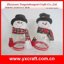 Christmas candy jar ZY14Y31-1-2 25CM - santa calendar
