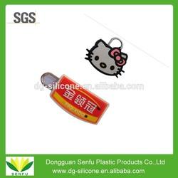 Eco-friendly custom PVC Zipper Slider with high quality