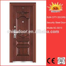 Latest style single door forged steel door handle SC-S013