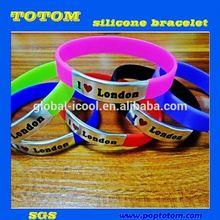 POP interchangeables montre bracelet en silicone