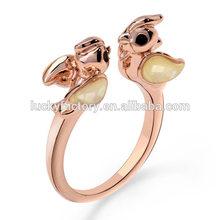 Fashion jewelry animal bird rings,rings for birds