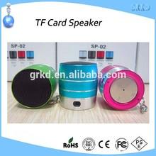 New design metal mini portable speaker