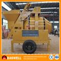 Alta eficiência portátil pequeno 0.5m3 inclinação drum betoneira diesel