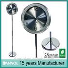 "12"" ornaments for home metal floor standing clocks"