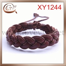 Guangzhou CT fashional latest Direct Magnetic Leather Bracelet