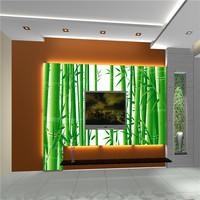 green bamboo photo wallpaper