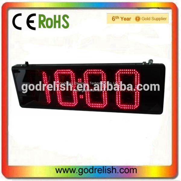часы схема-Светодиодный