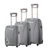 100%pure PP portable trolley case aluminium trolley case travel luggage bag belt