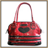 Red Fashionable low price leather dog supplies pet bag carriers