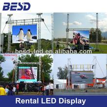 p10 super light outdoor aluminum concert led screen