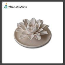 decorative aroma plaster flower for fragrance oil