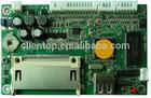 VGA+AV+AV Audio Advertising board support CF/SD/MMC card and USB 2.0 device