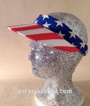 PRICE REDUCED/ 90s American Flag Vizor