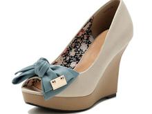 ahead summer wedding high heel shoe upper made in china