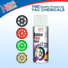 gloss and flexibility rubber paint spray