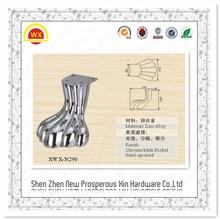 Furniture Manufacturer of metal iron curved sofa leg
