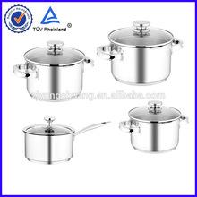 capsule bottom stainless steel mini enamel casserole pot