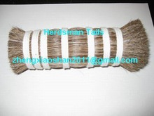 Natural color handmade horse hair painting brushes