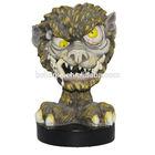Factory Manufacture Wholesale Decor Art Gift Ceramic Gold Halloween Decoration animal Skull