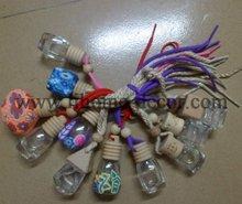 Various design and shape car air freshener oil bottles wholesale