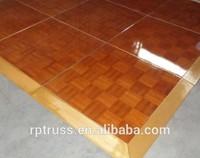 Party Event wooden dance floor portable dance floor