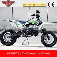 chinese cheap mini kids pit bike for sale, 50cc 2 Stroke Dirt Bike 50 SX MINI (DB502A)