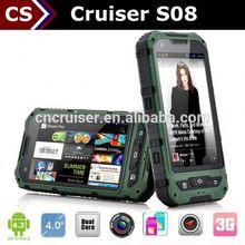 Cruiser S08 kid phone gps tracker with Dual Core GPS 3G NFC Dual Camera
