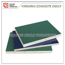PP plastic phenolic shuttering wood for formwork board