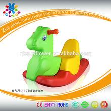 Three Colors Horse Shape Plastic Rocking Toy Plastic Seesaw, animal shape plastic Rocking Toy, Rocking Horse(XYH12074-14)