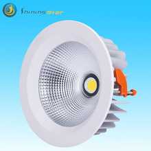 6inch 30watt Cree cob clear frosted center frosted 40 degree led downlight