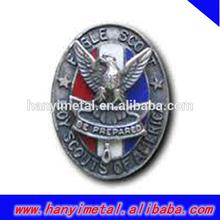 Custom military rank insignia badges