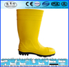 Yellow Safety Rain boots S4 S5,Safety Rain boots with steel toe cap,PVC Safety Rain boots