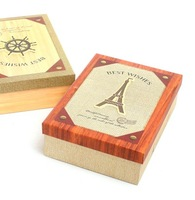 Customizing Antique Gift Boxes,Imitation Sailing Anchor Paper Box and Paris Eiffel Tower Gift Box