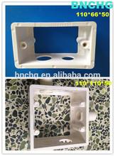 hot sale wall switches/wall mount light switch box 110*66