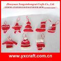 Decoração de natal zy13f118-13-14-15-16-17-18-19-20 10cm- handmade sacos de natal