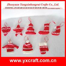 Christmas decoration ZY13F118-13-14-15-16-17-18-19-20 10CM - handmade christmas bags